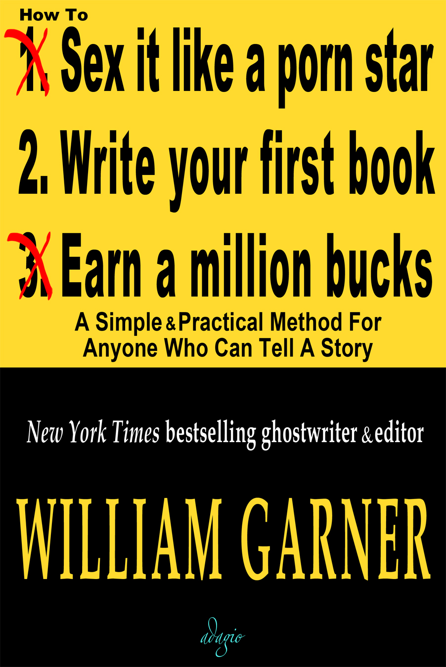 How To Write Your First Book eBook